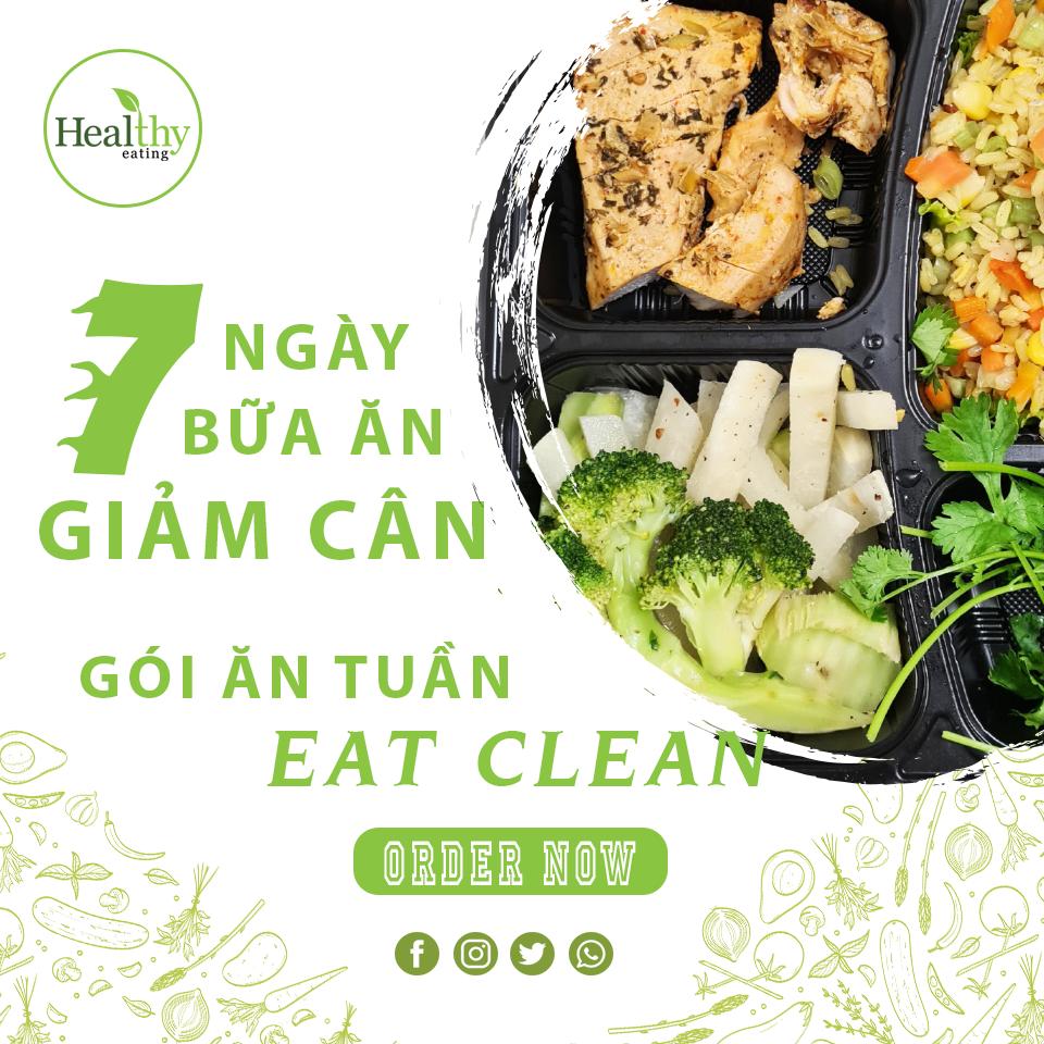 CHẾ ĐỘ ĂN EAT CLEAN 7 BỮA